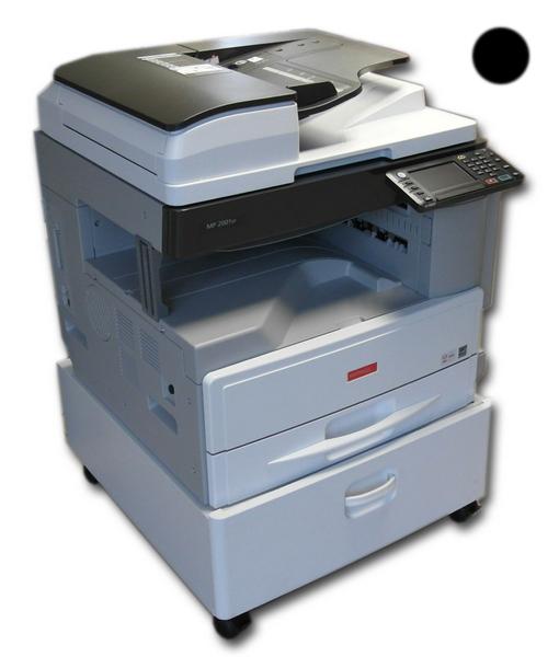 Kserokopiarka monochromatyczna Nashuatec / Ricoh MP 2001 SP/ MP 2001SP RADF duplex, kolorowy skaner, STOLIK -opcja