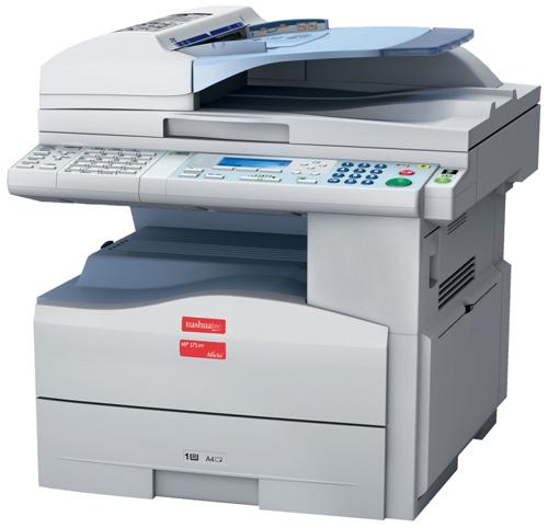 Kserokopiarka używana Ricoh Aficio MP171SPF, A4, drukowanie sieciowe, kolorowy skaner, fax, duplex, RADF, bardzo małe koszty eksploatacji