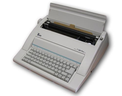 Maszyna do pisania elektroniczna TRIUMPH ADLER T 180 T 180 PLUS