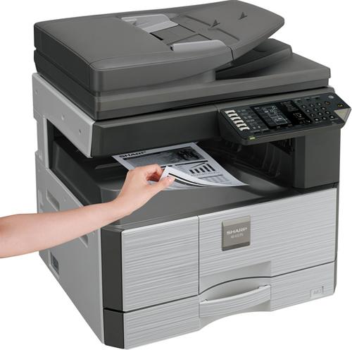 Kserokopiarka Sharp AR-6020NV, RADF, drukowanie sieciowe, skanowanie kolorowe, toner